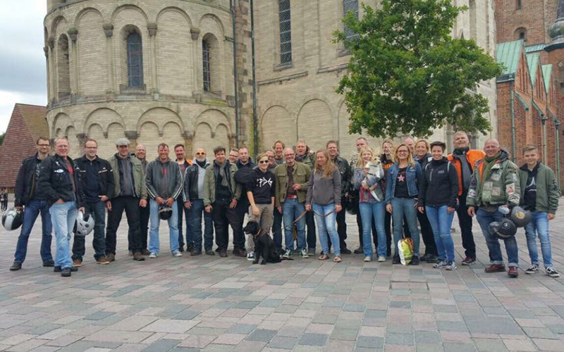 Gruppenfoto in Ribe
